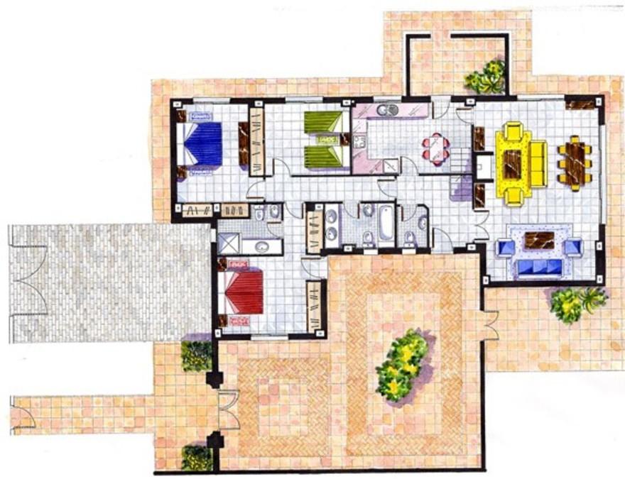 Nuevo Portil Villa 4 Bedroom